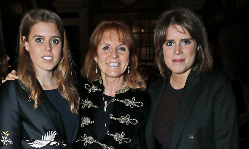 The Duchess of York just paid a very touching tribute to daughters Princesses Beatrice and Eugenie Photo (C) GETTY