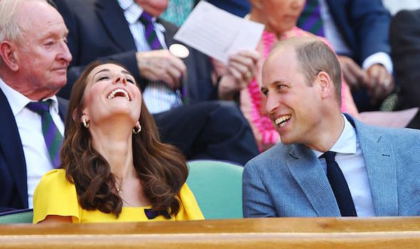 The Duke and Duchess looked as in love with each other as they ever did Photo (C) GETTY