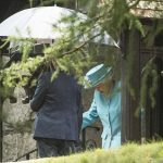The Queen was spotted attending church in Scotland Photo (C) WENN