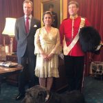 The family posed with the regiment's mascot. Copyright Cour grand-ducale Photo (C) INSTAGRAM