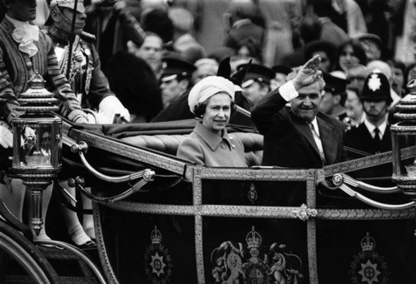 The internationally unpopular Communist dictator Ceausescu visited the Queen in 1978 Photo (C) Getty Images