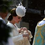 The intimate tone of the christening was set by none other than the Duchess of Cambridge Photo (C) GETTY