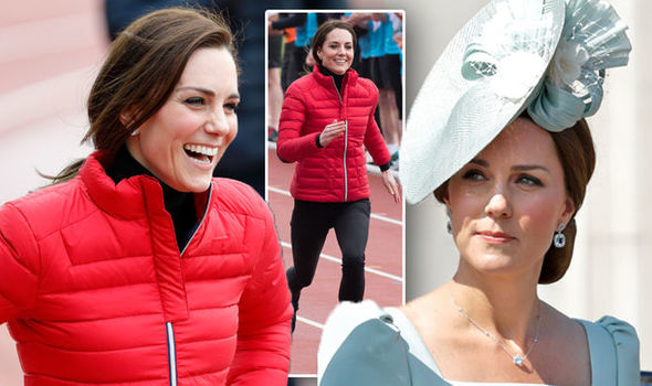 The reason Kate can't run marathons was revealed on Loose Women by her friend Bryony Gordan Photo (C) GETTY IMAGES