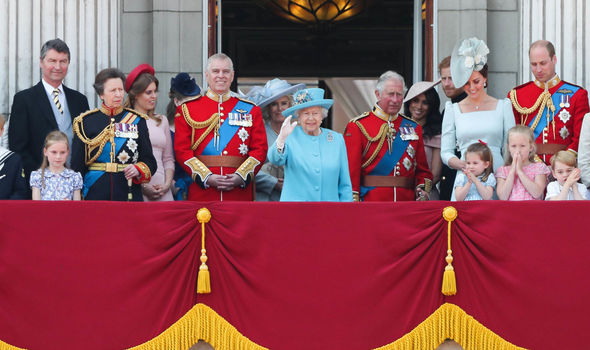 The royal family follow a strict set of rules, according to Buckingham Palace's protocol (Image GETTY)
