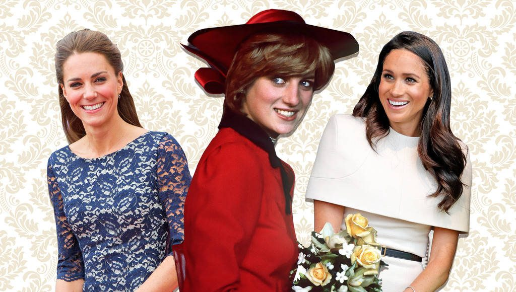 There's a very short answer as to how Meghan Markle and Kate Middleton's first days Photo (C) GETTY