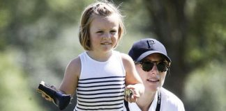 Zara Tindall was spotted at the 2018 Celebrity Cup just 12 days after giving birth to her baby Lena Photo C Mike Marsland WireImage