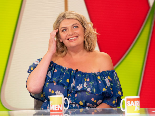 Author Bryony Gordon was chatting about her friendship with the royals on Loose Women Photo (C) GETTY