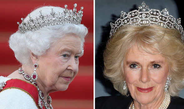 Camilla Parker Bowles could become Queen Consort when Prince Charles ascends to the throne (Image GETTY )