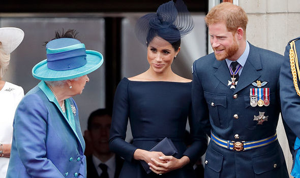 Meghan Markle and Harry will join the Queen in Scotland (Image GETTY )