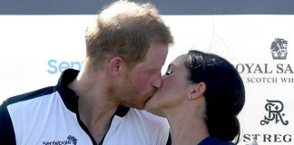 Prince Harry and Meghan Markle after a recent charity polo match (Image GETTY)