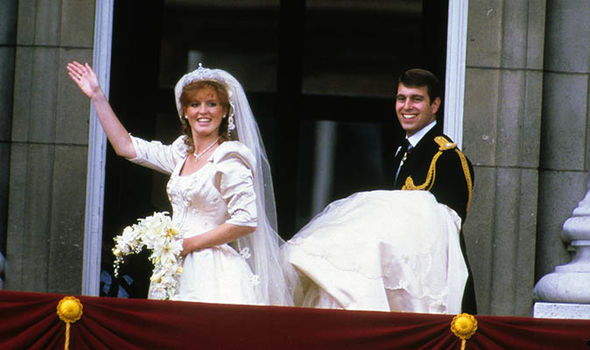 Sarah Ferguson described stepping onto the world stage as a royal wife as 'mesmeric' (Image GETTY)