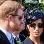 3 Prince Harry and Meghan Markle at the wedding of Charlie van Straubenzee (Image GETTY)