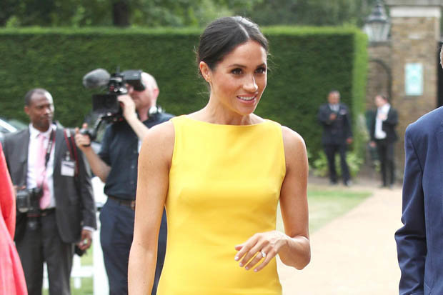 BIRTHDAY GIRL Meghan will celebrate her 37th birthday today Photo (C) PA