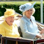 Camilla, pictured with the Queen, undertook 235 official royal engagements last year (Image GETTY)