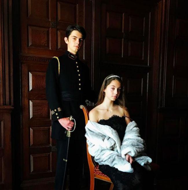 Catherine Zeta-Jones' son Dylan has a very surprising link to Princess Beatrice Photo (C) GETTY