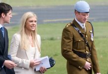 Chelsy Davy spoke of the pressures of life by the side of a royal family member (Image GETTY )