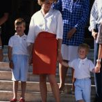 Diana and her boys used to holiday at Marivent Palace in Spain Photo (C) GETTY IMAGES