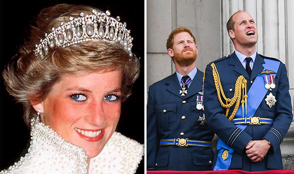 Diana's inheritance was shared equally between William and Harry (Image GETTY)