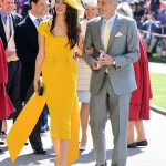 George and Amal Clooney were guests at Prince Harry and Meghan's wedding Photo (C) GETTY