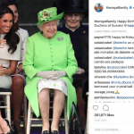 Happy Birthday to HRH The Duchess of Sussex! Phoot (C INSTAGRAM