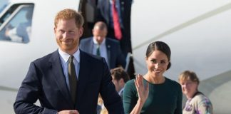 Harry and Meghan during their trip to Ireland in July. [Photo Getty]