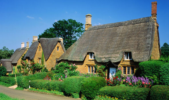 Idyllic settings in Great Tew, Oxfordshire. (Image GETTY)