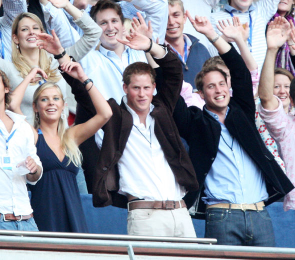 In his youth Prince Harry was known as the Party Prince (Image Getty Images)