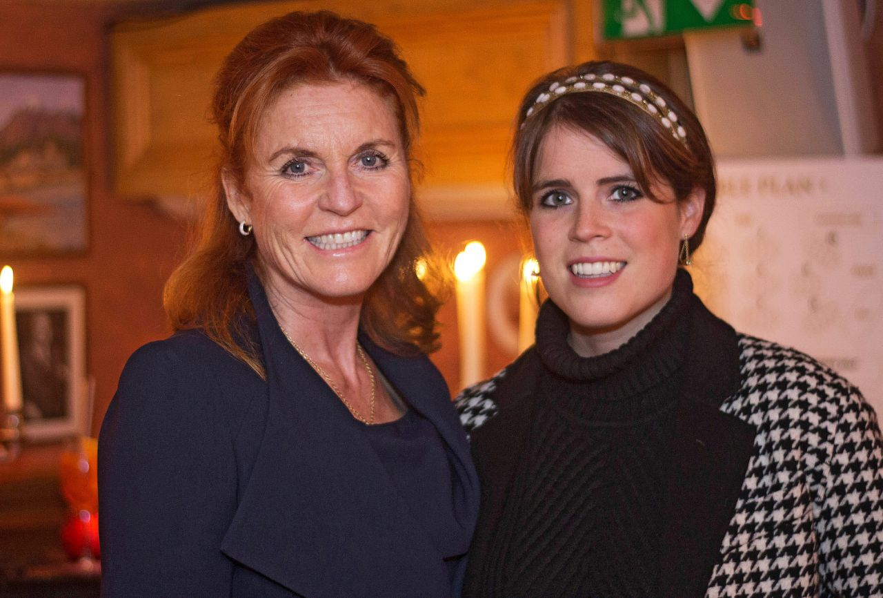 Interestingly, Eugenie's mum Sarah Ferguson, didn't get a wedding band made from the special lump of Welsh gold. Source Getty