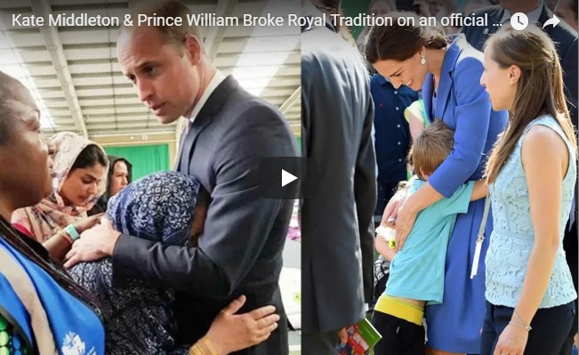 Kate Middleton & Prince William Broke Royal Tradition on an official visit to Germany