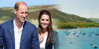 Kate Middleton and Prince William's holiday in Mustique has been revealed by onlookers (Image Getty)