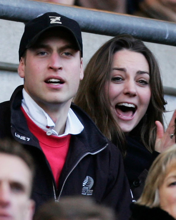 Kate Middleton news She and William split briefly in 2006, pair pictured that year above (Image GETTY)