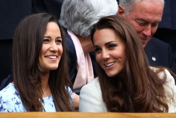 Kate and Pippa are known to have a close relationship (Image GETTY)