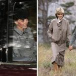 Kate evoked memories of Princess Diana with her outfit on Sunday (Image Peter Jolly REX Shutterstock GETTY)