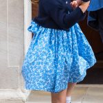 Kate loves dressing Princess Charlotte with matching accessories to finish off her look (Image GETTY)