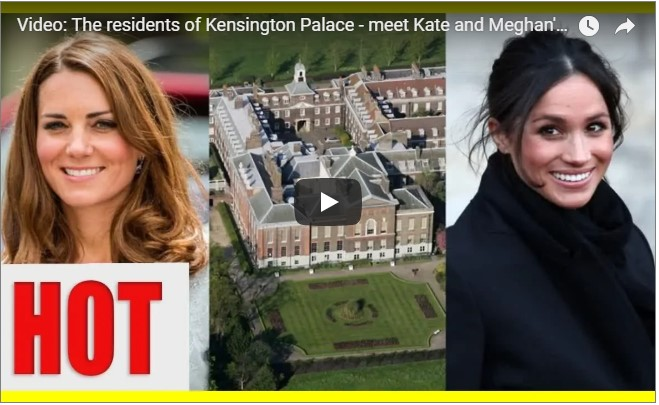 Kensington Palace is one of the larger royal residences and has housed many notable royals over the years including Princess Margaret and Princess Diana