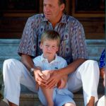 King Juan Carlos and a six-year-old Prince William pictured in 1988 Photo (C) GETTY IMAGES