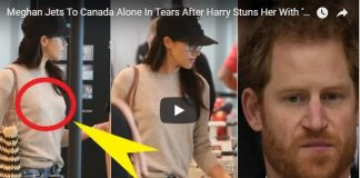 Meghan Jets To Canada Alone In Tears After Harry Stuns Her With 'Shocking Ultimatum'
