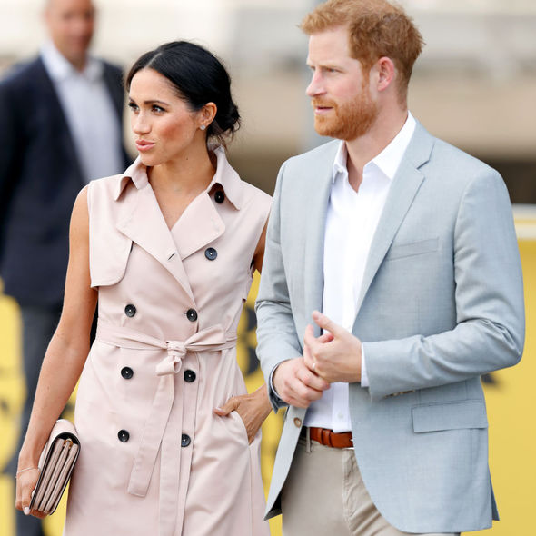 Meghan Markle birthday The Duchess has chosen to wear a number of outfits with pockets (Image GETTY)