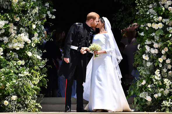 Meghan Markle has enjoyed a whirlwind year ino the royal family (Image GETTY )