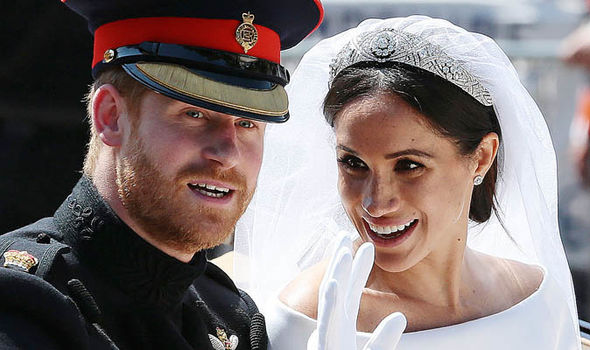 Meghan Markle news Before the May 19 wedding,Thomas was embroiled in a fake-photo scandal (Image Getty )