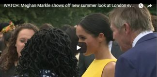 Meghan Markle shows off new summer look at LondonMeghan Markle shows off new summer look at London event event
