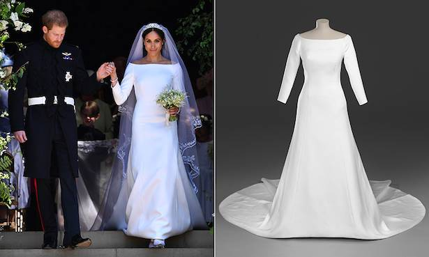 Meghan Markle's wedding dress to go on display in Windsor and Edinburgh – dates and details revealed Photo (CMeghan Markle's wedding dress to go on display in Windsor and Edinburgh – dates and details revealed Photo (C) GETTY) GETTY