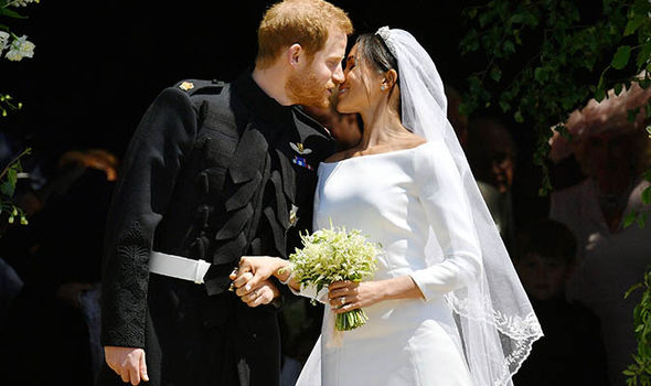 Meghan and Harry got married on May 19 at Windsor's St George's Chapel (Image GETTY)