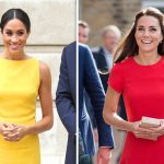 Meghan and Kate have worn other bright colours, but never orange. (Image GETTY)