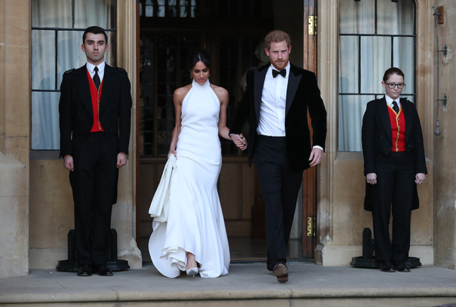 Why Meghan Markle's second wedding dress won't be displayed at exhibition Photo (C) GETTY