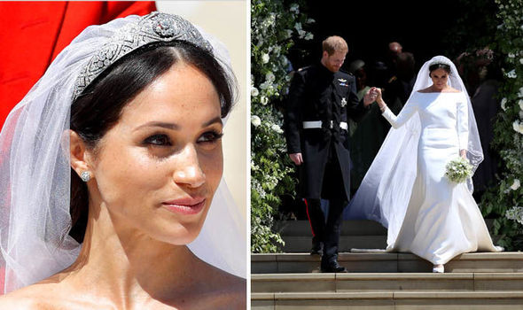Meghan's wedding dress will go on display at Windsor Castle (Image GETTY)
