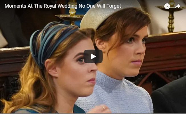 Moments At The Royal Wedding No One Will ForgetMoments At The Royal Wedding No One Will Forget