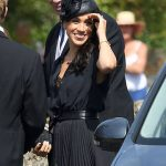One shot caught new royal Meghan cheekily sticking her tongue out! Photo (C) GETTY