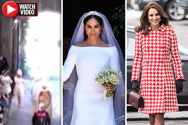 PALS Meghan Markle received her bouquet from Kate Middleton at the Royal Wedding – fans claim