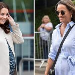 Pippa Middleton is following her big sister in her pregnancy (Image GETTY)